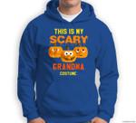 Grandma Halloween This Is My Scary Grandma Costume Sweatshirt & Hoodie