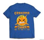 Grandma Shark Boo Boo Pumpkin Halloween Grandma Gift T-shirt