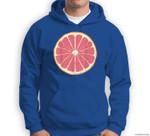 Grapefruit Pomelo Citrus Fruit DIY Easy Halloween Costume Sweatshirt & Hoodie