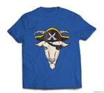 Halloween  Goat Pirate T-shirt