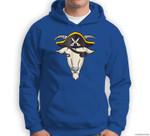Halloween  Goat Pirate Sweatshirt & Hoodie