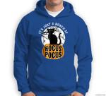 Halloween , Hocus Pocus , Funny Cat Ghost Sweatshirt & Hoodie