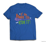 Halloween - Broom Fits T-shirt