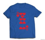 9 of Hearts - Playing Card Halloween Costume T-shirt