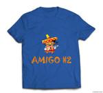 Amigo #2 Group easy last minute cartoon Halloween costume T-shirt