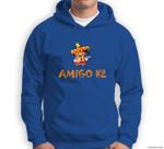 Amigo #2 Group easy last minute cartoon Halloween costume Sweatshirt & Hoodie