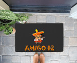 Amigo #2 Group easy last minute cartoon Halloween costume Doorrmat