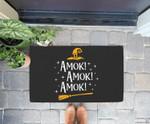 Amok Amok Amok Cute Costume Idea Sisters Halloweens Doorrmat