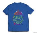 Amuck Amuck Amuck Funny Witch Halloween Gift T-shirt