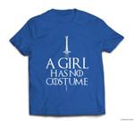 Halloween A Girl Has No Costume - Needle Sword T-shirt