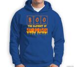 Halloween Boo Art  Chemistry Teacher Element Surprise Quote Sweatshirt & Hoodie