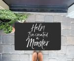 Halloween Costume for Mom & Dad Help! I've Created a Monster Doorrmat