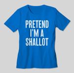Simple Easy Pretend I'm a Shallot Halloween Costume T-shirt