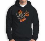 Skateboarding Skeletons Skeleton Skater Halloween Skate Sweatshirt & Hoodie