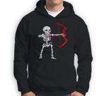 Skeleton Archery Bow Hunting Halloween Sweatshirt & Hoodie