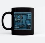 Gaming pc Case Tower Fun Costume for Halloween Gamer Gifts Ceramic Coffee Black Mugs
