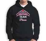 Gender Reveal  Team Princess, Girl, Pink For Family Sweatshirt & Hoodie