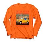 Get In Losers We're Saving Halloween Town Skeleton Drive Car Sweatshirt & Hoodie