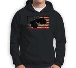 American Flag Big Style Truck Monster Size Car Fans Sweatshirt & Hoodie