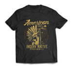 American Native Indian American Motorcycle Gift T-shirt