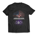 American Raised with Iroquois Roots T-shirt