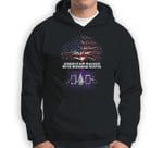 American Raised with Iroquois Roots Sweatshirt & Hoodie