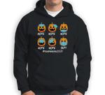 Nope Face Mask Lazy DIY Halloween Costume Teacher Life 2021 Sweatshirt & Hoodie