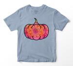 Fall Mandala Pumpkin Halloween Autumn Yoga New Age T-shirt