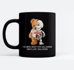 Fanny Halloween skeleton for women, toddler, boy, men Ceramic Coffee Black Mugs