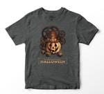 Steampunk Halloween Costumes Jack O Lantern Pumpkin Face Youth Hoodie/T-shirt