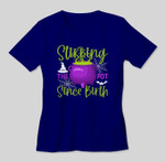 Stirring The Pot Since Birth Spooky Witch Halloween Costume T-shirt