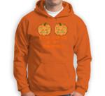Stop Staring At My Pumpkins Funny Halloween Boobs Sweatshirt & Hoodie