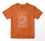 Strength Tarot Card Greek Mythology Halloween Cerberus Witch T-shirt