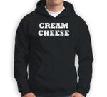 Cream Cheese Halloween Costume Cute Funny Party Sweatshirt & Hoodie