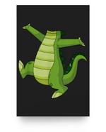 Crocodile Alligator Easy Halloween Costume Matter Poster