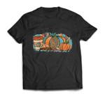 Just A Girl Who Loves Fall, Pumpkin Coffee Halloween T-shirt