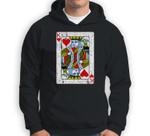 King Of Hearts Playing Card Halloween Costume Vintage Sweatshirt & Hoodie