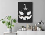 Halloween Pumpkin Jack O Lantern Face Pumpkin Halloween Premium Wall Art Canvas Decor