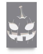 Halloween Pumpkin Jack O Lantern Face Pumpkin Halloween Matter Poster