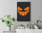 Halloween Pumpkin Jack O Lantern Premium Wall Art Canvas Decor