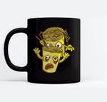 Halloween Ramen Noddle's Zombie Ceramic Coffee Black Mugs