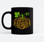 Pumpkin Glasses Optometry Halloween Halloween Funny Ceramic Coffee Black Mugs