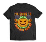 Pumpkin Halloween Gym Workout Pumpking Fitness Bodybuilding T-shirt