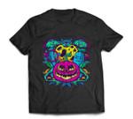 Pumpkin Monster Gravestone Cross Bat Halloween Party Gift T-shirt