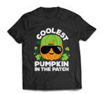 Pumpkin Patch For Boys Coolest Halloween T-shirt
