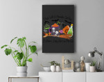 This Witch Needs Coffee Before Any Hocus Pocus Halloween Premium Wall Art Canvas Decor
