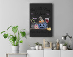 This Witch Needs Wine Before Any Hocus Pocus Halloween Fall Premium Wall Art Canvas Decor