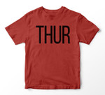 Thursday Days of the Week , Costume, Shark Youth Hoodie/T-shirt