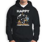 Funny Happy Camp-O-Ween Camping Halloween Sweatshirt & Hoodie