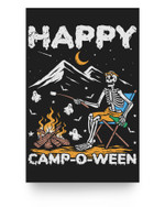 Funny Happy Camp-O-Ween Camping Halloween Matter Poster